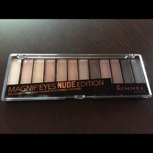 RIMMEL Eye contouring palette <NUDE> edition